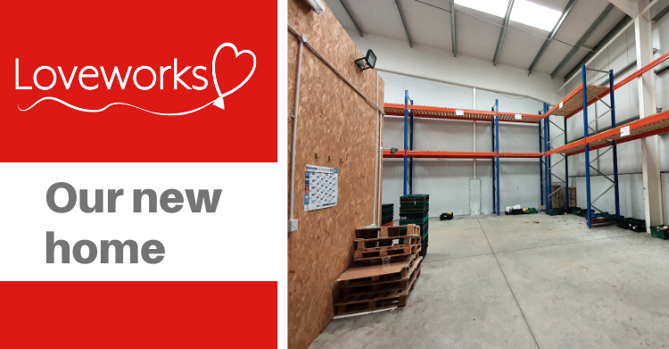 Loveworks new home for food storage